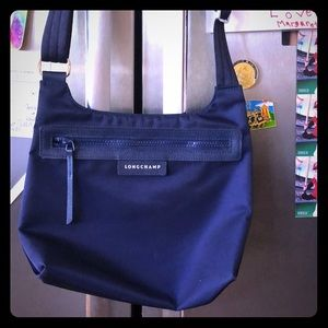 Longchamp Authentic Crossbody Blue